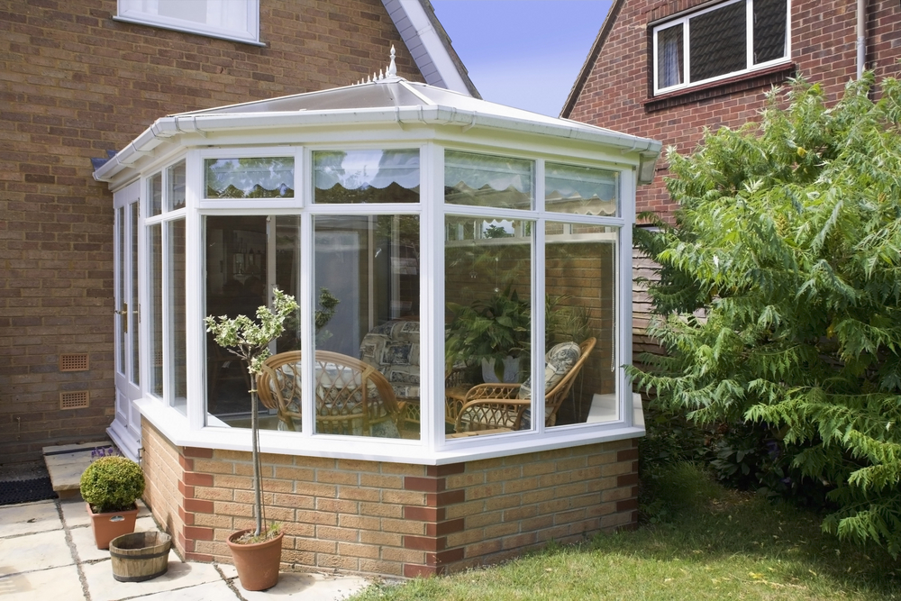 A small sized conservatory