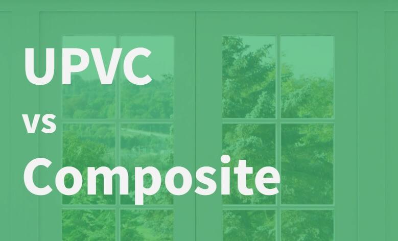 Cheap uPVC doors vs composite doors