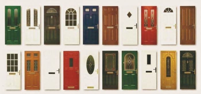 Cheap uPVC door options and colours